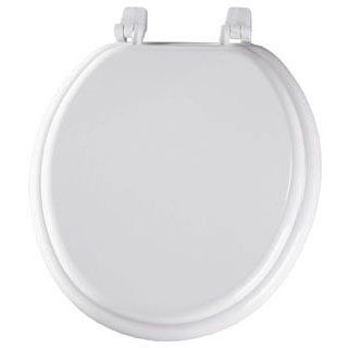 BEMIS 400TTA-000 RF *CFWC* WHITE WOOD TOILET SEAT ** MADE IN USA MC275021