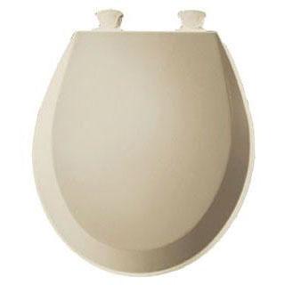BEMIS 500EC-006 RF *CFWC* BONE WOOD TOILET SEAT W/EASY CLEAN & CHANGE HINGE