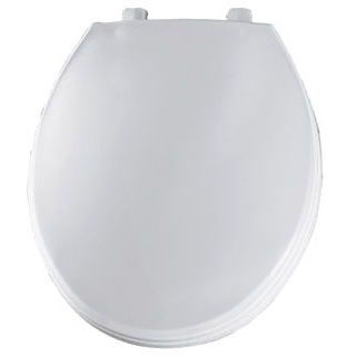 BEMIS 760T-000 RF *CFWC* WHITE COMMERCIAL TOILET SEAT W/STAINLESS STEEL HINGE (REPLACES 760B & 800B)