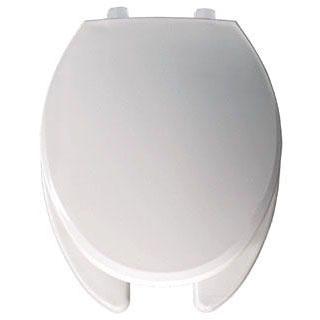 BEMIS 7650T-000 WHITE EL *OFWC* WITH STA-TITE HINGE PLASTIC (REPLACES 1850EC)