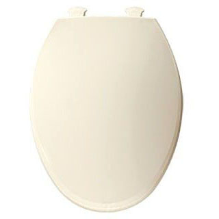 BEMIS 800EC-346 RF *CFWC* BISCUIT/LINEN PLASTIC TOILET SEAT W/EASY CLEAN & CHANGE HINGE