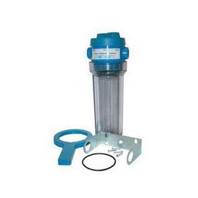 """10"""" WATER FILTER HOUSING 3/4"""" FPT W/BYPASS VALVE (FHT-34VSS-S) (14HK-V10C-07) (FH1034VH-12)"""