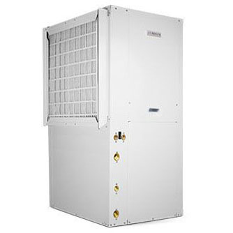 BOSCH CE035-1VTN-FLT 3T 10KW,HR,FS 2-STG GEO HP W/INSTALLED OPTIONS: HP100-1XS ELEC. HEATER 9.6 KW 399-009 HOT WATER KIT 881-022 FREEZE-STAT