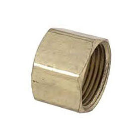BRASSCRAFT (NLFC) 61CP-6 3/8 BRASS COMPRESSION CAP *** NOT FOR POTABLE WATER ***