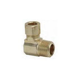 "(NLFC) 69-6-4 3/8""X 1/4"" COMPRESSION MALE ELBOW    *** NOT FOR POTABLE WATER *** (WHEN OUT NO LONGER AVAILBLE)"