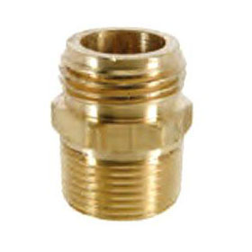 (LFC) HU22-8-12X HOSE ADAPTER 1/2MIPX3/4MHT (19A-12D) *** LEAD FREE COMPLIANT ***
