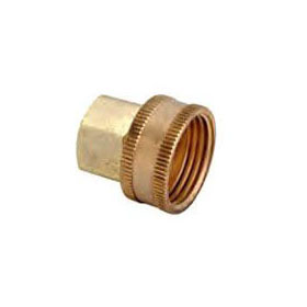 (LFC) HUS11-12-12X SWIVEL HOSE ADAPTER 3/4 FIP X 3/4 FHT *** LEAD FREE COMPLIANT ***
