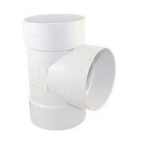 PVC SEWER-DRAIN TEE 4