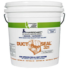 HARDCAST 304159 #DS321-25 DUCT SEALER 11OZ CAULK TUBE (S1-304159) MC297947