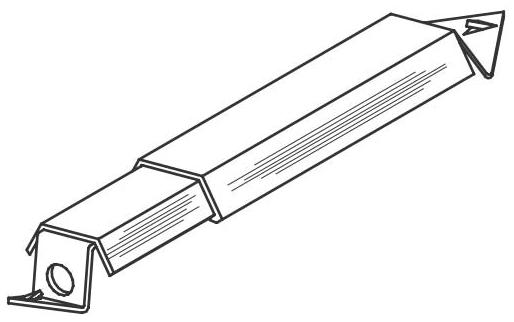 BASSET A-125 BRACKET (A-1) (25/BX)