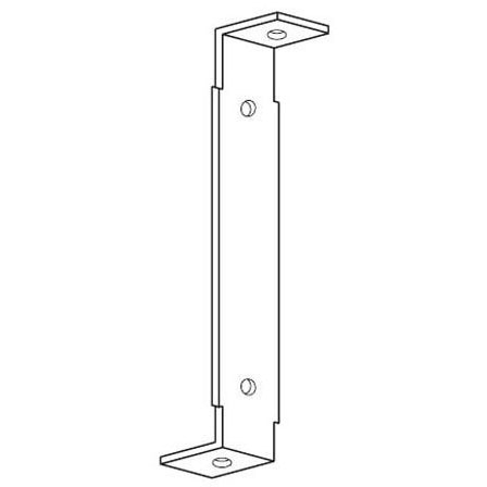 "BASSETT BH-10 10"" SQUARE DUCT HANGER 18GA (100/BOX) (DUNDEE DH-10)"