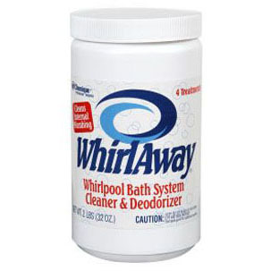 WHIRLAWAY 2 LB WHIRLPOOL PLUMBING SYSTEM CLEANER AND DEODORIZER