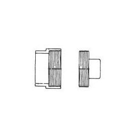 "CHARLOTTE P105X PVC DWV CLEANOUT W/PLUG 1-1/2"""