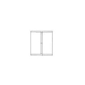 "CHARLOTTE 1100 SCH.30 PVC COUPLING 3"" (60130) (Jenison)"