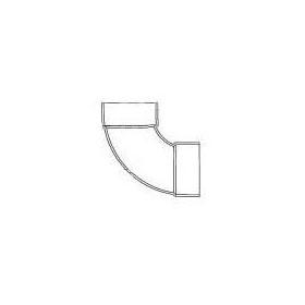 "CHARLOTTE SCH30 DWV 1/4 BEND ELBOW 3"" (PVC 1300) (62830) (Jenison)"