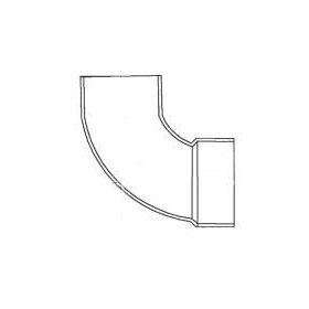 "CHARLOTTE 1302 SCH.30 ST. 1/4 BEND 90 ELBOW 3"" (62936) (Jenison)"