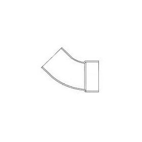 "CHARLOTTE 1323 SCH.30 ST. 1/8 BEND 45 ELBOW 3"" (62730) (Jenison)"