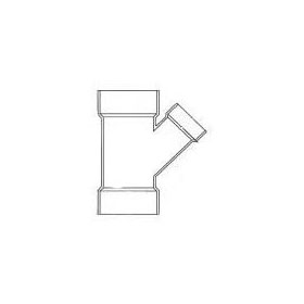 "CHARLOTTE 1601 PVC SCH.30 WYE 3"" X 2"" (61032) (Jenison)"