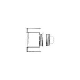 CHARLOTTE PVC DWV P444X C.O. TEE W/PLUG 3
