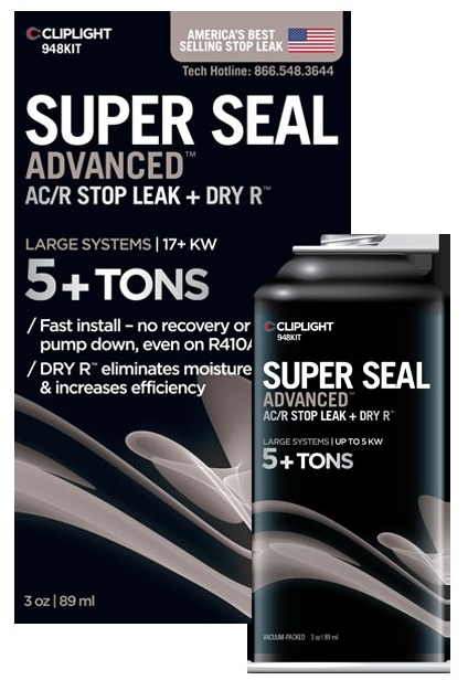 //WSL// CLIPLIGHT 948KIT SUPER SEAL COMMERCIAL LEAK SEALANT