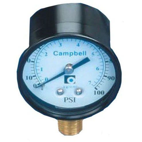 CAMPBELL PG1T 100# PUMP PRESSURE GAUGE 2