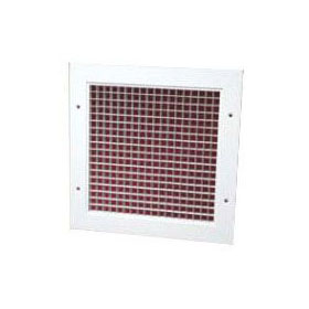 //WSL// CONTINENTAL ECGEW1224TB 12X22 EGG CRATE GRILLE, ALUMINUM CONSTRUCTION, WHITE FOR T-BARS MC296637