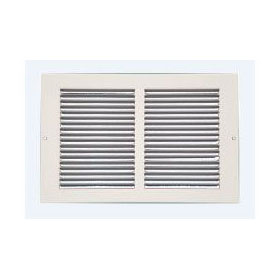 CONTINENTAL G35W2424 24 x 24 STEEL RETURN AIR GRILLE WHITE