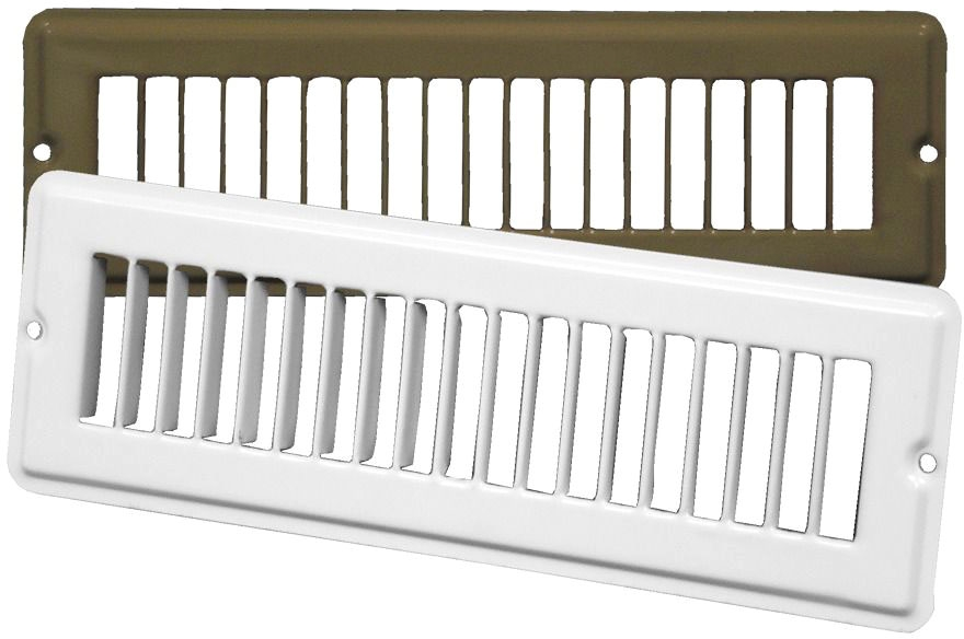 CONTINENTAL TG32W1003 10 x 2-1/4 TOE SPACE GRILLE WHITE MC294332