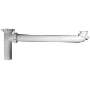 "P9121ABG PVC END OUTLET CONTINUOUS WASTE-SLIP JOINT 1-1/2"" X 16"" (P9108AWB)"