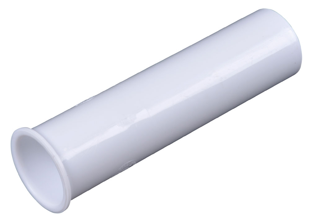 10-6W FLANGED PVC SINK TAILPIECE 1-1/2