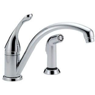 DELTA 441-DST KITCHEN FAUCET W/SPRAY 2H 9