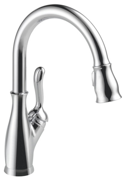 DELTA 9178-DST LELAND CHROME PULL-DOWN KITCHEN FAUCET