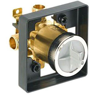 DELTA R10000-UNBX MULTICHOICE UNIVERSAL VALVE BODY ONLY FOR 1300/1400/1700/17T *** TUB AND SHOWER ***