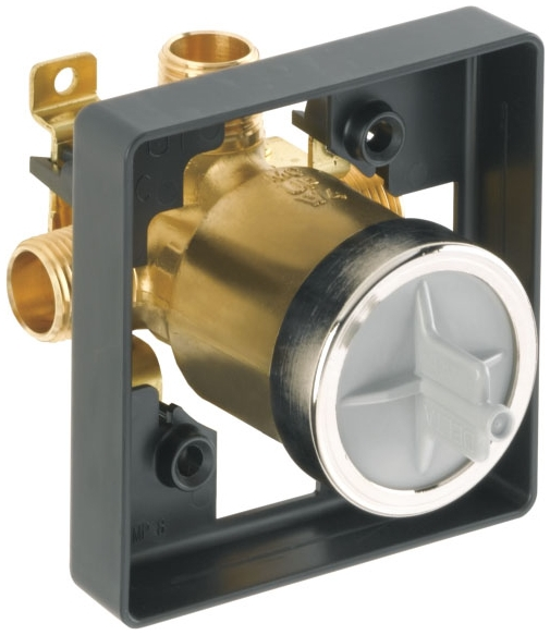 DELTA R10000-UNBXHF **HIGH FLOW ** MULTICHOICE UNIVERSAL VALVE BODY ONLY FOR 1300/1400/1700/17T *** SHOWER ONLY ***