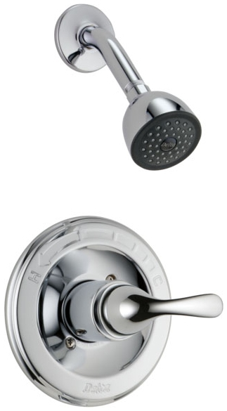 DELTA T13220 CHROME CLASSIC SHOWER TRIM ONLY INCLUDES CARTRIDGE AND LEVER HANDLE