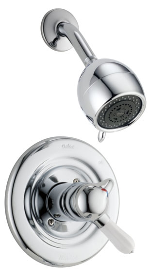 DELTA T17230 CHROME INNOVATIONS SHOWER TRIM ONLY INCLUDES CARTRIDGE AND LEVER HANDLE