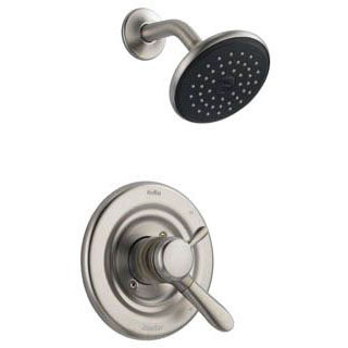 DELTA T17238-SS STAINLESS LAHARA MONITOR 17 SERIES SHOWER ONLY TRIM INCLUDES HANDLE