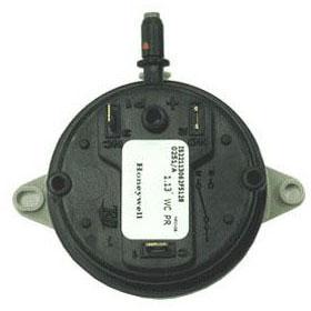 REVERBERRAY TP260F EXHAUST PRESSURE SWITCH 50-150 MBTU/H (DX UNIT) (REPLACES TP60F)