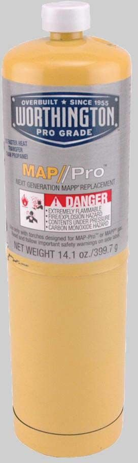 525-MT1 MAPP GAS 14oz (12260-MPG16) (332401)