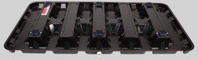 DIVERSITECH 6-HK3060 ABS PLASTIC BLACK HIGH RISE DRAIN PAN 30