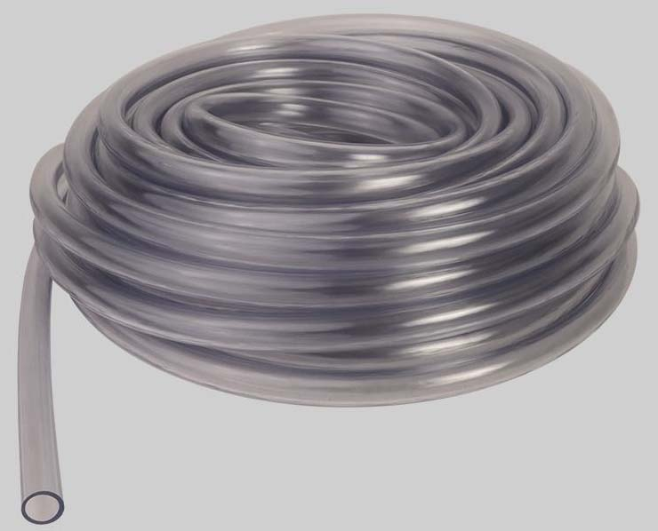 CLEAR VINYL TUBING 3/4 ID X 100' 7-34 MC15939