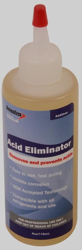 DIVERSITECH ACID-ELIM ACID ELIMINATOR, A/C ACID REMOVAL QWIK SHOT (CAN-4)