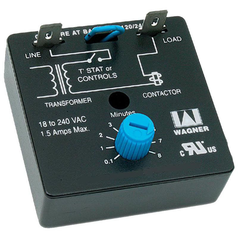 DIVERSITECH ADB-1 WAGNER ADJUSTABLE TIMER, DELAY ON BREAK 0.01-8 min. (wd-5a) MC30603