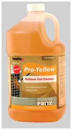 DIVERSITECH PRO-YELLOW PROCLEAN COIL CLEANER - YELLOW, 1 GALLON