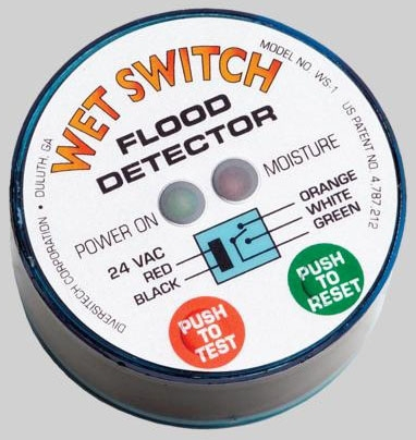 DIVERSITECH WS-1 WET SWITCH FLOOD DETECTOR MC68735