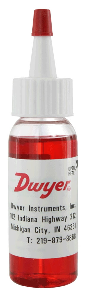 DWYER A101 RED GAUGE OIL 3/4 OZ