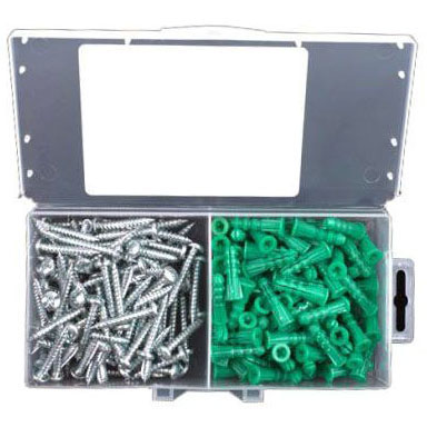 "EPA2 PLASTIC ANCHOR KIT 3/16"" PK-70-R (R1991)"
