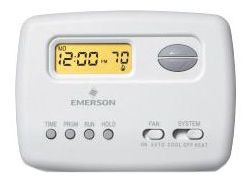 WHITE RODGERS 1F78-151 T-STAT, PROGRAMMABLE 5-2, 1H/1C, BATTERY