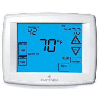 //WSL// WHITE RODGERS 1F95-1291 4H/2C TOUCHSCREEN SINGLE/MULTI-STAGE, HP DUAL FUEL, HUMIDIFY/DEHUMIDIFY, 7 DAY, 5/1/1, OR NON-PROG MC275822