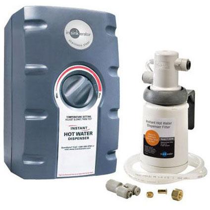 INSINKERATOR HWT-F1000S 2/3 GALLON STAINLESS STEEL & FILTRATION SYSTEM